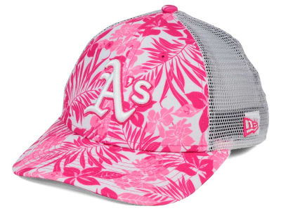 Oakland Athletics New Era MLB Youth Flower Power 9FORTY Cap