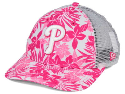 Philadelphia Phillies New Era MLB Youth Flower Power 9FORTY Cap