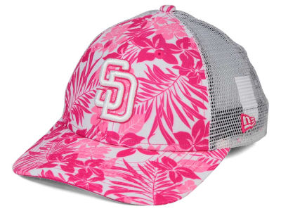San Diego Padres New Era MLB Youth Flower Power 9FORTY Cap