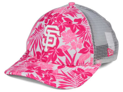 San Francisco Giants New Era MLB Youth Flower Power 9FORTY Cap
