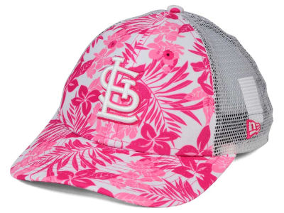 St. Louis Cardinals New Era MLB Youth Flower Power 9FORTY Cap
