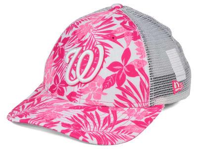 Washington Nationals New Era MLB Youth Flower Power 9FORTY Cap
