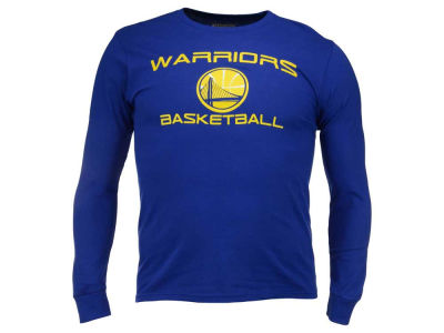 Golden State Warriors Majestic NBA Men's Reflex Long Sleeve T-Shirt