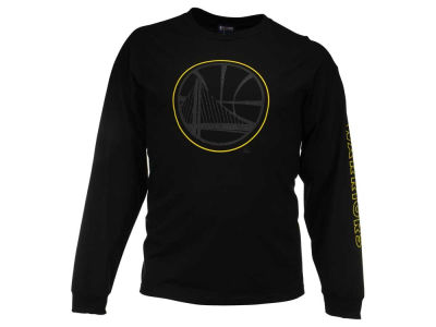 Golden State Warriors Majestic NBA Men's Up and Under Long Sleeve T-Shirt