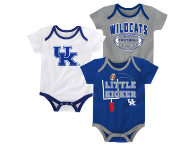 Kentucky Wildcats Outerstuff NCAA Newborn 3 Points 3-Piece Creeper Set