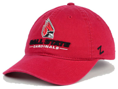 Ball State Cardinals Zephyr NCAA Scholarship Adjustable Hat