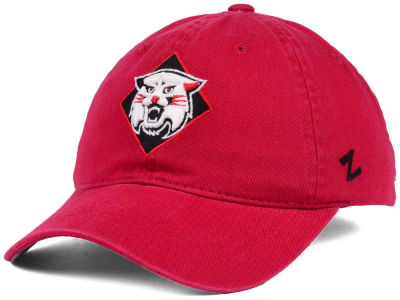 Davidson College Wildcats Zephyr NCAA Scholarship Adjustable Hat