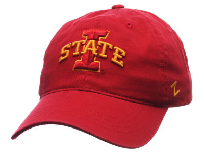 Iowa State Cyclones Zephyr NCAA Scholarship Adjustable Hat