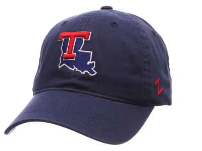 Louisiana Tech Bulldogs Zephyr NCAA Scholarship Adjustable Hat