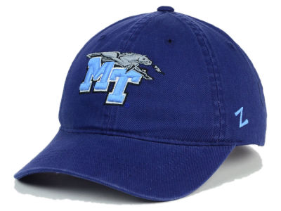 Middle Tennessee State Blue Raiders Zephyr NCAA Scholarship Adjustable Hat