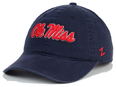 Ole Miss Rebels Zephyr NCAA Scholarship Adjustable Hat