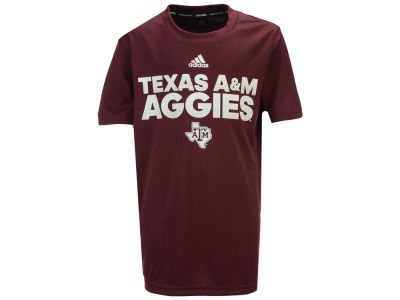 Texas A&M Aggies Outerstuff NCAA Youth Sideline Hustle T-Shirt