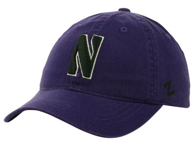Northwestern Wildcats Zephyr NCAA Scholarship Adjustable Hat