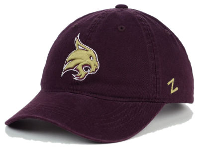Texas State Bobcats Zephyr NCAA Scholarship Adjustable Hat