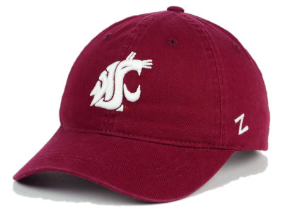 Washington State Cougars Zephyr NCAA Scholarship Adjustable Hat