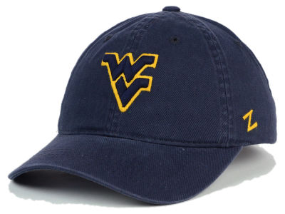 West Virginia Mountaineers Zephyr NCAA Scholarship Adjustable Hat