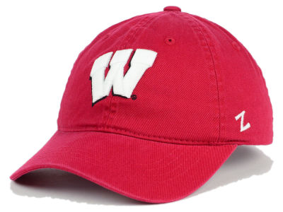 Wisconsin Badgers Zephyr NCAA Scholarship Adjustable Hat