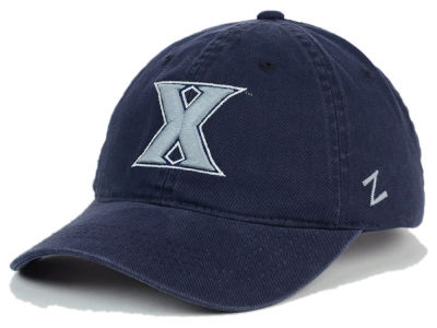 Xavier Musketeers Zephyr NCAA Scholarship Adjustable Hat