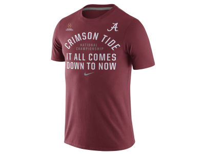 Alabama Crimson Tide Nike NCAA 2015-2016 National Championship Game Bound NOW T-Shirt