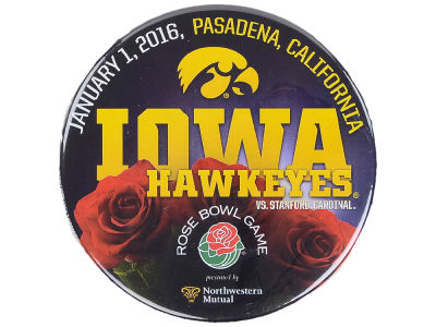 Iowa Hawkeyes Rose Bowl Bound Button