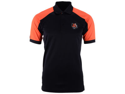 Cincinnati Bengals Antigua NFL Men's Century Polo Shirt