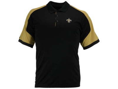 New Orleans Saints Antigua NFL Men's Century Polo Shirt
