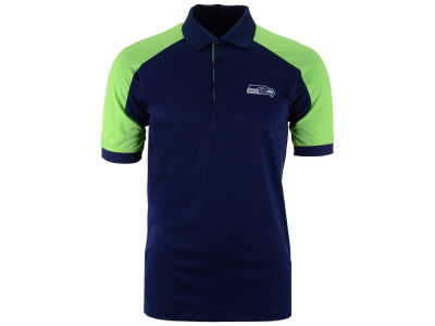 Seattle Seahawks Antigua NFL Men's Century Polo Shirt