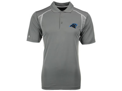 Carolina Panthers Antigua NFL Men's Attempt Polo Shirt