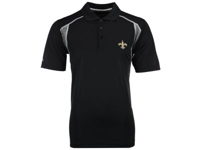 New Orleans Saints Antigua NFL Men's Attempt Polo Shirt