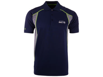 Seattle Seahawks Antigua NFL Men's Attempt Polo Shirt