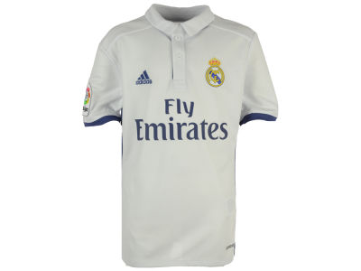 Real Madrid adidas Club Team Youth Home Stadium Jersey
