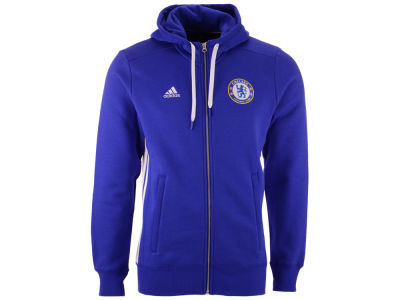 Chelsea adidas Men's Club Team 3 Zip Hoodie
