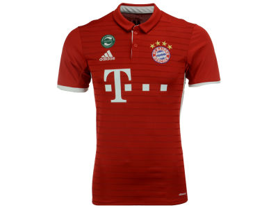Bayern Munich adidas Men's Club Team Home Stadium Jersey