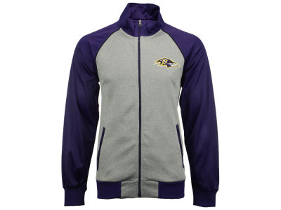Baltimore Ravens GIII NFL Men's Throwback Track Jacket