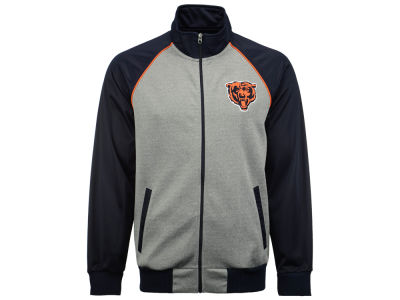 Chicago Bears GIII NFL Men's Throwback Track Jacket