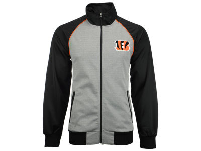 Cincinnati Bengals GIII NFL Men's Throwback Track Jacket