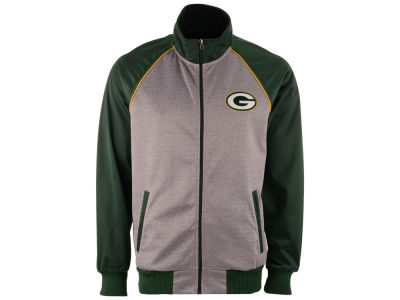 Green Bay Packers GIII NFL Men's Throwback Track Jacket