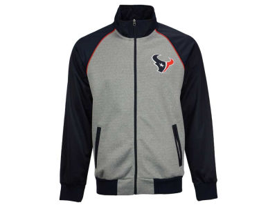 Houston Texans GIII NFL Men's Throwback Track Jacket