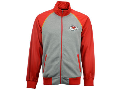 Kansas City Chiefs GIII NFL Men's Throwback Track Jacket