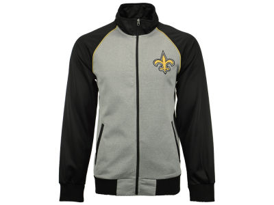 New Orleans Saints GIII NFL Men's Throwback Track Jacket