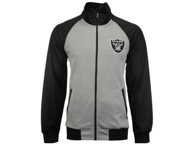 Oakland Raiders GIII NFL Men's Throwback Track Jacket