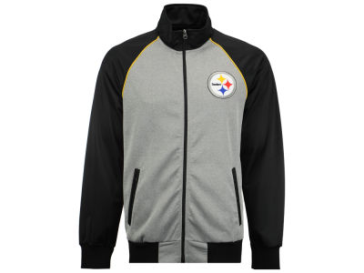 Pittsburgh Steelers GIII NFL Men's Throwback Track Jacket