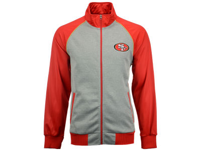San Francisco 49ers GIII NFL Men's Throwback Track Jacket