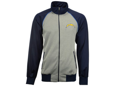 Los Angeles Chargers GIII NFL Men's Throwback Track Jacket