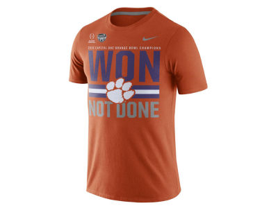 Clemson Tigers Nike NCAA 2015-2016 Orange Bowl Champ LR T-Shirt
