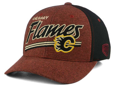 Calgary Flames NHL Strides Stretch-Fit Cap