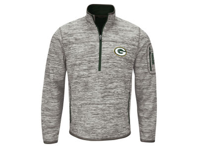Green Bay Packers GIII NFL Men's Fast Pace 1/4 Zip Pullover
