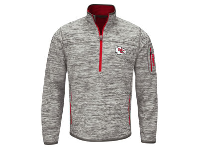 Kansas City Chiefs GIII NFL Men's Fast Pace 1/4 Zip Pullover