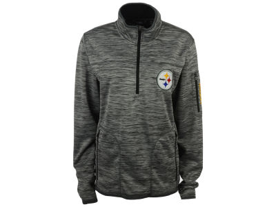 Pittsburgh Steelers GIII NFL Men's Fast Pace 1/4 Zip Pullover