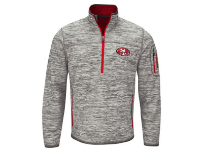 San Francisco 49ers GIII NFL Men's Fast Pace 1/4 Zip Pullover